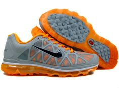 Nike Air Max 2011 Mens US Sale - Orange/Grey/Black