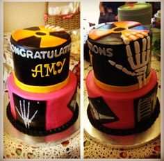 Really weird when I see my graduation cake on here and google. Lol. I know it's amazing though. :) Rad tech graduation cake my parents got me!