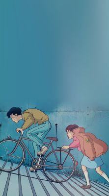 Whisper Of The Heart Seiji and Shizuku Phone Backgrounds for kurostuki