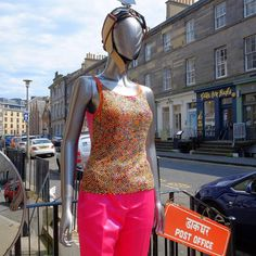 https://flic.kr/p/v9TkLu | The pink Capri pants look great with the beaded top that I bought in the late #eighties  #shopmycloset #ootd #whattowear #welcometomywardrobe #sootd #edfashion #thisisedinburgh #vintage_daily #scotstreetstyle #stockbridgeedinburg