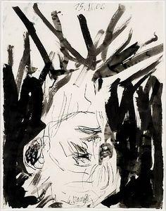 GEORG BASELITZ http://www.widewalls.ch/artist/georg-baselitz/ #contemporary #art #expressionism