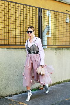Street Style // Shades of pink