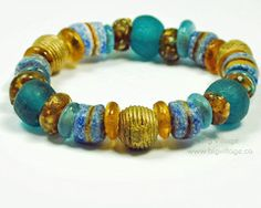 Our jewellery features ethically sourced materials including beads from many countries in Africa. Recycled Glass, Fair Trade, Earthy, Wax, Beaded Bracelets, Lost, Beads, Blue, Jewelry
