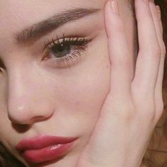 Wimpern Make-up - Christmas Deesserts Aesthetic Makeup, Aesthetic Girl, Blue Eyes Aesthetic, Beauty Make-up, Hair Beauty, Beauty Dupes, Maquillaje Natural Tumblr, Makeup Inspo, Makeup Inspiration