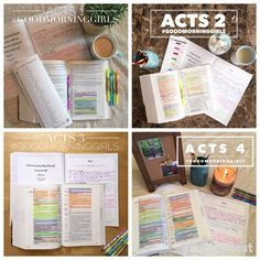 Good Morning Girls Resources {Acts 6-10} - Women Living Well