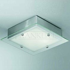 Bathroom Lights Square chrome anushka sputnik flush ceiling light - bhs | entrance