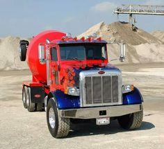 Peterbilt concrete truck