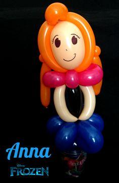 Frozen Anna Balloon Candy Cup #Frozen #PrincessAnna