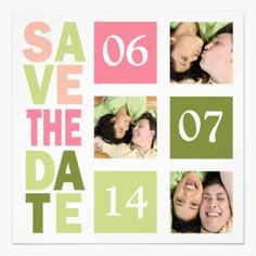 Photo Save The Date Cards Personalized Announcement