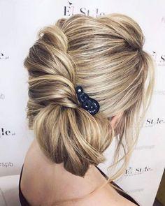 Elstile Long Wedding Hairstyle Inspiration ❤️ http://www.deerpearlflowers.com/elstile-long-wedding-hairstyle-inspiration/3/
