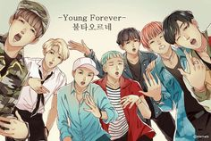 young forever  .bts