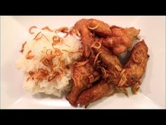A specialty of a town in sourthern Thailand, Hat Yai Fried Chicken is one of best fried chicken recipes I know! Recipe from Hot Thai Kitchen. Best Fried Chicken Recipe, Chicken Recipes Video, Fried Chicken Wings, Chicken And Shrimp, Lime Chicken, Thai Recipes, Asian Recipes, Hat Yai, Laos Food
