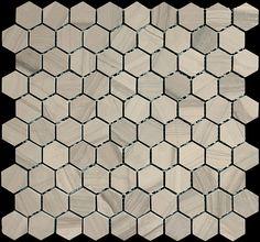 "Colour: Athena Gris Finish: Honed 11.8"" x11.3"" #Profiletile Marble Polishing, Honed Marble, Stone Tiles, Natural Looks, Mosaic Tiles, Athens, Interior And Exterior, Antiques, Colour"