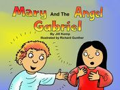 An angel tells Mary that God has chosen her to be the mother of His son, Jesus. (Matthew 1:18-25, Luke 1:26-45)