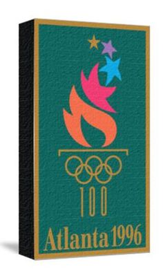 Official Poster for the 1996 Summer Olympics in Atlanta Giclee Print at Art.com