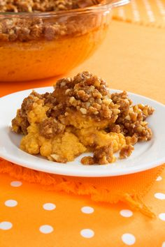 Sweet Potato Casserole  | G-Free Foodie #GlutenFree