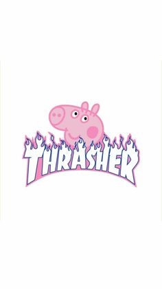 peppa pig thrasher Peppa Pig is actually a British isles toddler cartoon tv collection Cute Tumblr Wallpaper, Hype Wallpaper, Iphone Wallpaper Tumblr Aesthetic, Iphone Homescreen Wallpaper, Iphone Wallpaper Vsco, Cartoon Wallpaper Iphone, Trippy Wallpaper, Disney Phone Wallpaper, Aesthetic Pastel Wallpaper