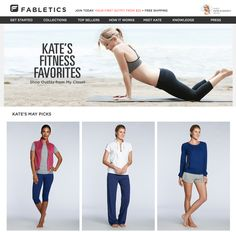 Kate Hudson & Fabletics: bequeme, preiswerte und modische Sportkleidung für jede Frau | Sports Insider Magazin