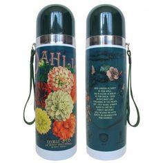 In Bloom Dahlia Flask