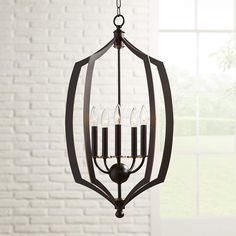 Middletown Wide Downton Bronze Foyer Pendant is a quality for your ideas. Chandelier Design, Bronze Chandelier, Chandelier Lighting, Entryway Lighting, Living Room Lighting, Led Pendant Lights, Kitchen Pendant Lighting, Chandeliers, Sloped Ceiling