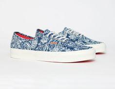 #Vans Authentic Paisley Limoges #Sneakers