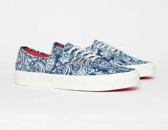 #Vans Authentic Paisley Limoges #Sneakers