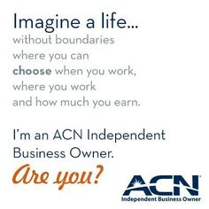 Imagine a life where you can choose life without boundaries. #ACN