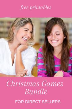 Grab the FREE printable and read how to play these Christmas games. Get ready now for the Christmas party season!