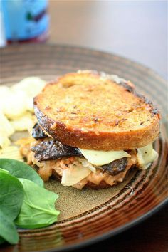Vegetarian Reuben Sandwiches   The Curvy Carrot Vegetarian Reuben Sandwiches   Healthy and Indulgent Meals Dangling in Front of You