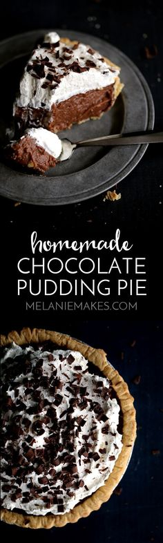 Topped with billowy clouds of whipped cream and showered with chocolate shavings, you won't want to share a single slice of this Homemade…