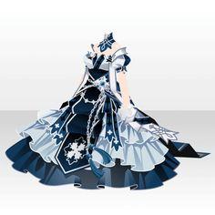 上半身/インナー セメンテリアの皇女正装Aブルー