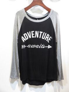 Adventure Awaits Graphic Shirt