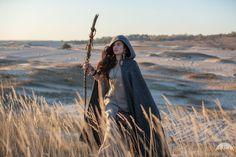"""Fantasy Woolen Cloak """"Labyrinth"""""""