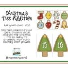 This Christmas tree addition packet focuses on addition with sums between 11 and 20.   My kids love it!   Thanks to the First Grade Fanatics for Sharing!    Free