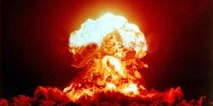 THE Cold War may be well behind us, but the threat of nuclear annihilation has never truly gone away. The terrifying power of nuclear weapons was first demonstrated when bombs were dropped on Hiros… Bomba Nuclear, Nuclear Test, Nuclear Bomb, Nuclear Energy, Fukushima, Les Inventions, Awesome Inventions, Jw Humor, Chernobyl