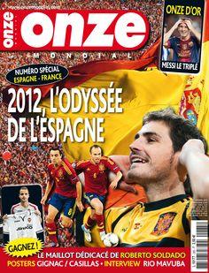 Onze Mondial N° 285 - Octobre 2012 - Avec le Onze d'or, Messi, l'Espagne, Gignac, Casillas et Rio Mavuba sur http://www.onzemondial.com/Onze-Mondial-N-285-date-octobre-2012-_r_39_pageid_1_i_311.html
