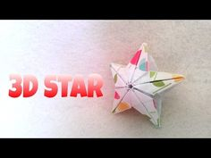 This is a tutorial for a DIY Origami Star Ornament. This Christmas Star makes a beautiful tree ornament and holiday home decor. + Author: Isa Klein & Michael Assis ♥ Also check out some of my recent videos! Easy Origami Star, Cute Origami, Origami And Kirigami, Origami Rose, Origami Stars, Diy Origami, Origami Tutorial, Origami Paper, Origami Instructions