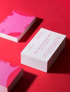 Raum für Frau Branding Business cards Container