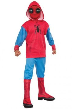 Spider-Man Homecoming - Hoodie and Sweatpant Set Children's Costume Family Costumes, Boy Costumes, Halloween Costumes, Best Scooter For Kids, Kids Scooter, Cotton Candy Blizzard, Kids Bed Design, Marvel Ultimate Spider Man, Miles Morales Spiderman