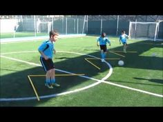 Protecting Yourself From Injuries During Soccer Training U8 Soccer Drills, Football Coaching Drills, Soccer Training Drills, Football Workouts, Soccer Skills, Soccer Conditioning Drills, Soccer Warm Ups, Barcelona Training, Football Tactics