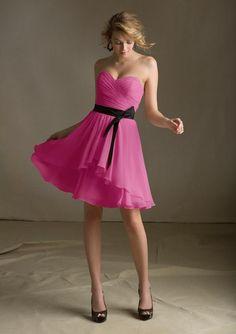 LIttle pink dresses #MoriLee31013