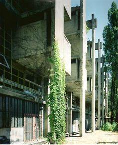 the masterpiece of the italian brutalism, Vittoriano Viganò, Istituto Marchiondi, Milan 1953