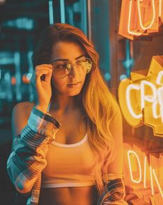 """""""Under The Electric Sky"""": Beautiful Portrait Photography In Neon Lights By Tom Dewh – Design You Trust Neon Photography, Creative Photography, Portrait Photography, Photography Reflector, Photography Accessories, Photography Workshops, Photography Tutorials, Girl Pictures, Girl Photos"""