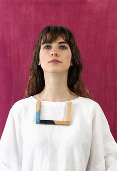 joias madeira marca Crua acessórios quadrado