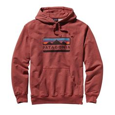 Patagonia Men\'s Tres Peaks Midweight Hooded Pullover Sweatshirt - Rusted Iron RIRN