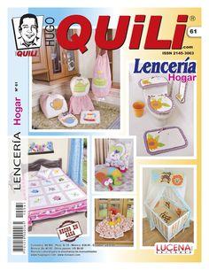 Revista Hugo Quili Lenceria Hogar No. 61