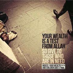Don't be greedy! Astaghfir Allah