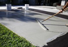 home repairs,home maintenance,home remodeling,home renovation Concrete Driveways, Concrete Floors, Walkways, Cement Patio, Diy Concrete, How To Resurface Concrete, Cement Work, Concrete Cover, Concrete Sealer