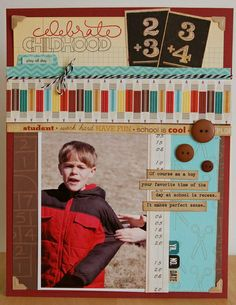 Use Older Product Challenge: Celebrate Childhood by JenGallacher @2peasinabucket
