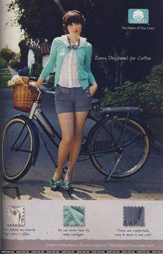 Shorts with a cardi: a cute look for later spring or early summer